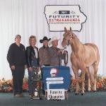Prestigious Iowa QH Futurity Champion...consistently a CHAMPION year after year